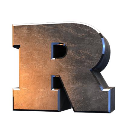 Letra R en inglés