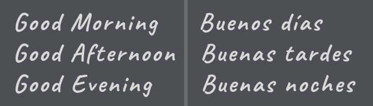 3 formas de saludar en inglés